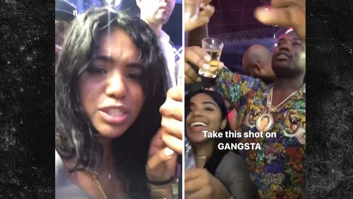Meek Mill Shows Off New Girlfriend Partying in Dubai (VIDEO)