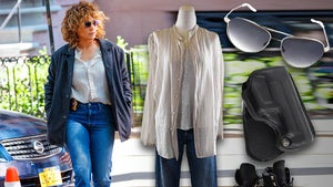 Jennifer Lopez Auctioning 'Shades of Blue' Wardrobe for Puerto Rico Relief