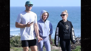 Colton Underwood Out for a Walk After Full Recovery from Coronavirus