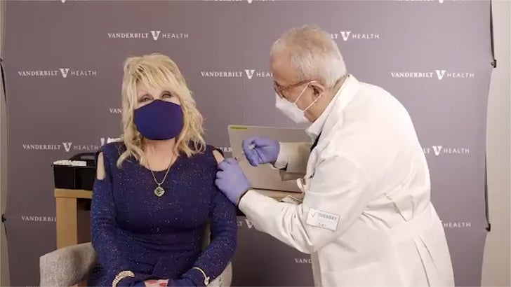 Dolly Parton Gets First Dose of Moderna COVID Vaccine, Busts out New Song.jpg