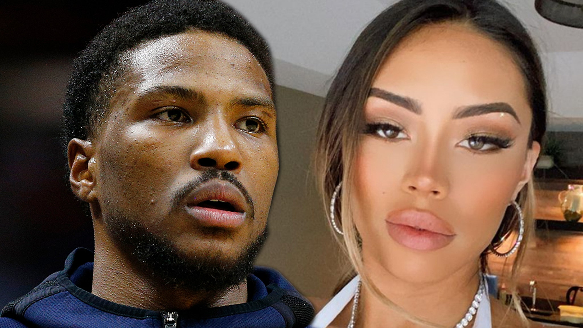 NBA's Malik Beasley Apologizes to Wife and Son for Fling with Larsa Pippen