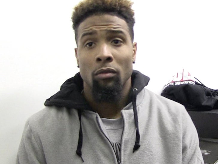 Odell Beckham had core muscle surgery