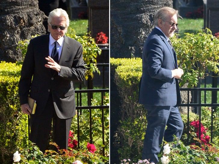 Kirk Douglas' Funeral