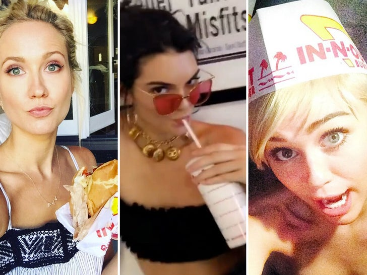 Stars Eating In-N-Out