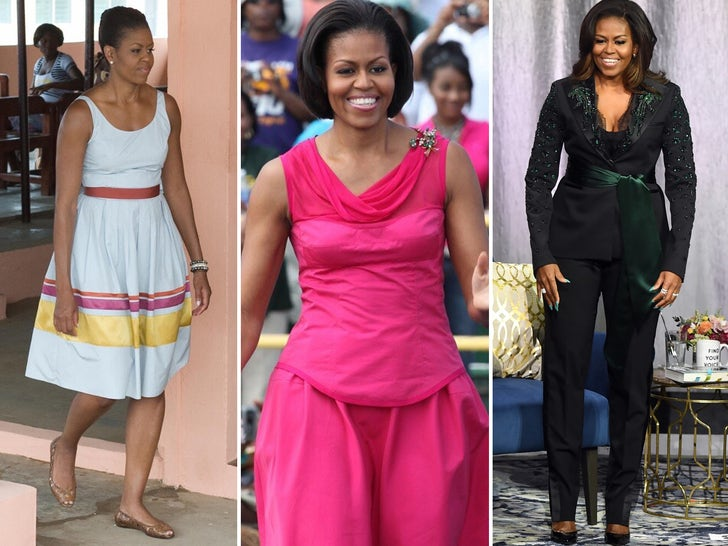 Michelle Obama Through The Years