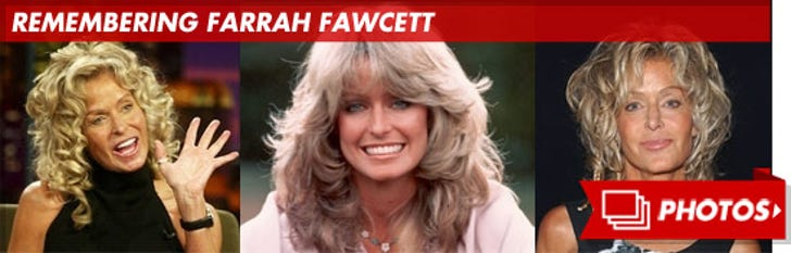 Remembering Farrah Fawcett