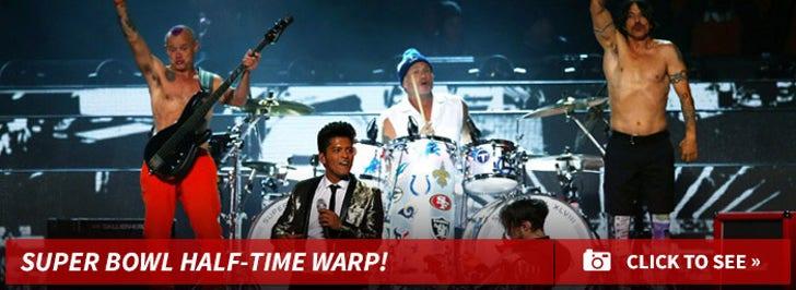 Super Bowl Half-Time Warp!