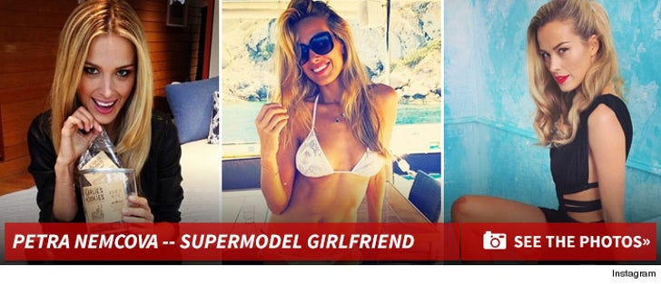 Petra Nemcova -- The Supermodel Girlfriend