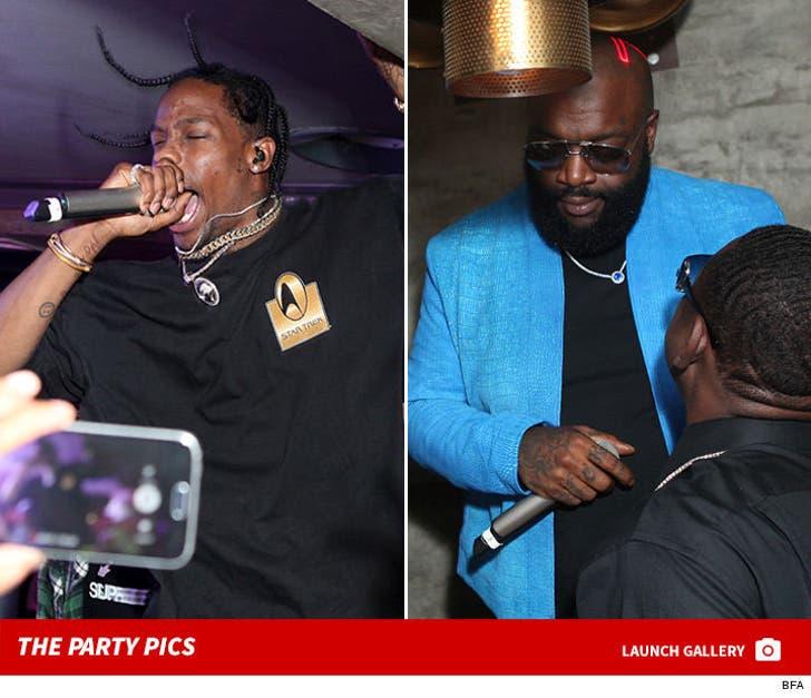Travis Scott -- From Club Performance To All-Star Rap Show