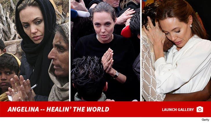 Angelina Jolie -- Healing the World