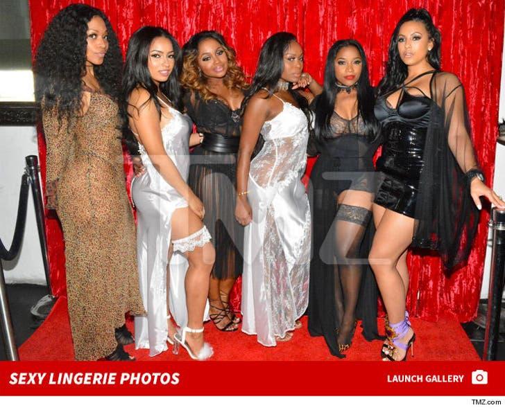 Phaedra Parks -- Lingerie Party Pics