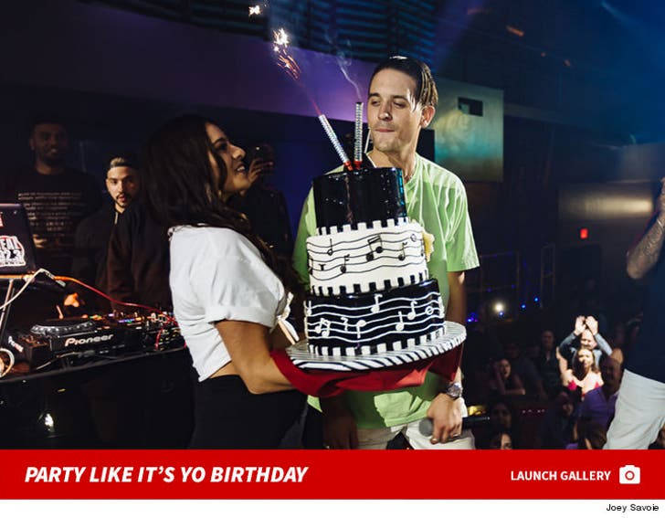 G Eazy's Birthday Pics