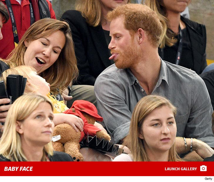 Prince Harry -- Baby Face