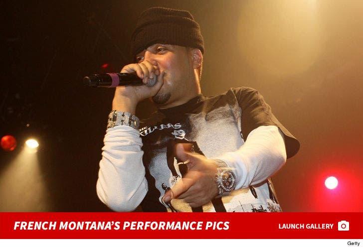 French Montana -- Performance Pics
