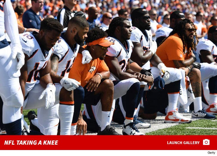 NFL Teams Taking a Knee