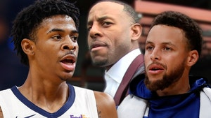 Ja Morant Trolls Steph Curry With Pic Of KD Amid Andre Iguodala Beef