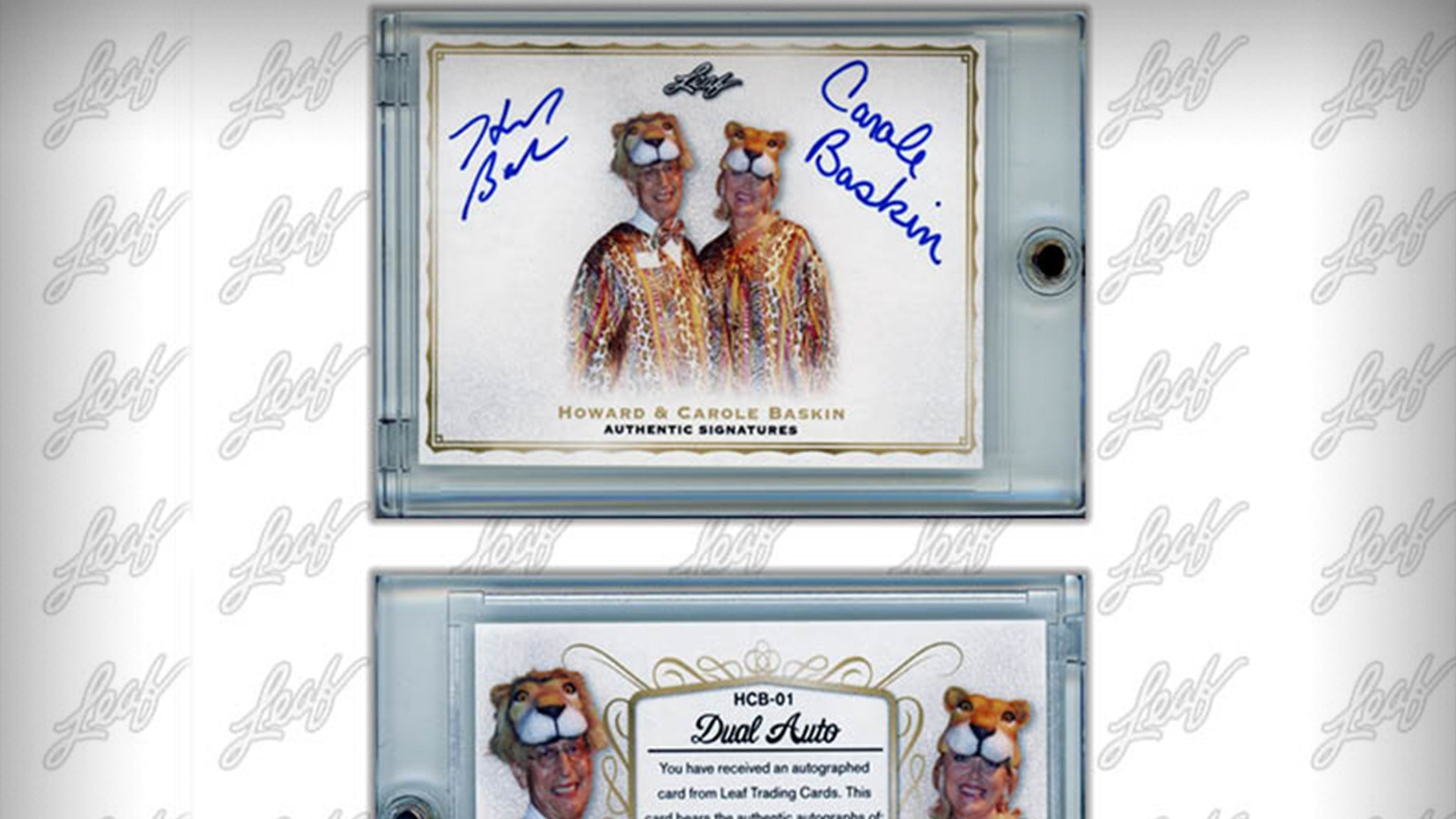 Carole & Howard Baskin Signed Trading Cards Sell Out ... In 24 Minutes!!!