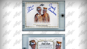 Carole & Howard Baskin Autographed Trading Cards Sell Out Immediately