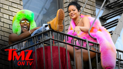 Rihanna & A$AP Rocky Film Music Video | TMZ TV.jpg