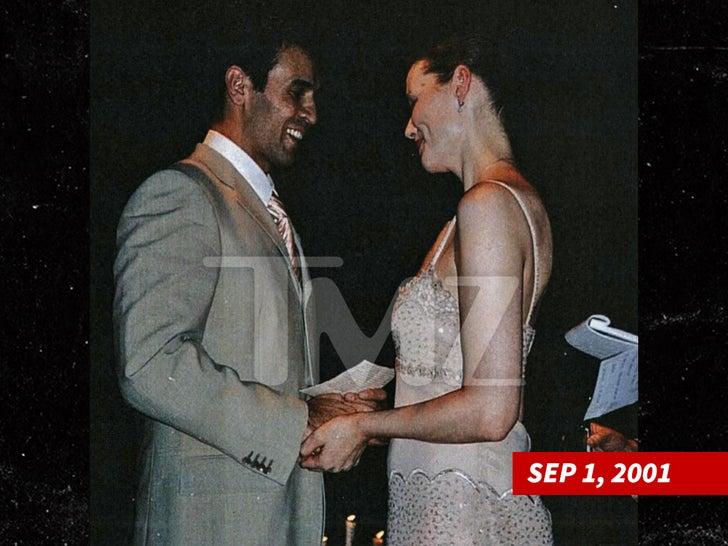 Geena Davis and Reza Jarrahy's Wedding Ceremony
