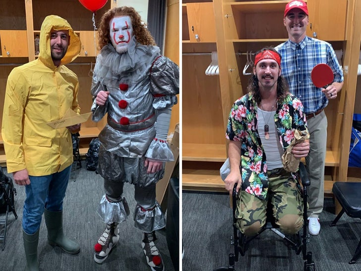 Dodgers Knock Costumes Out Of The Park