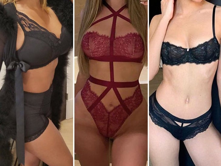 Sexy Ladies In Lingerie -- Guess Who!
