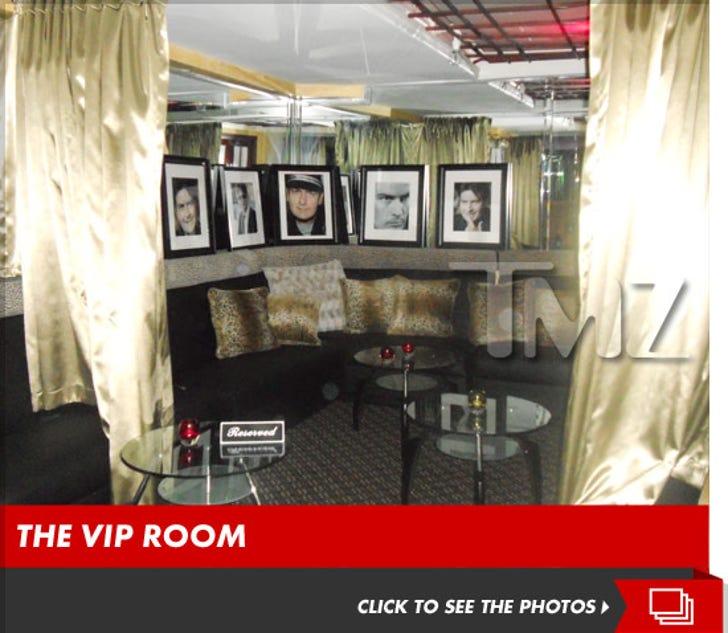 Charlie Sheen's VIP Room