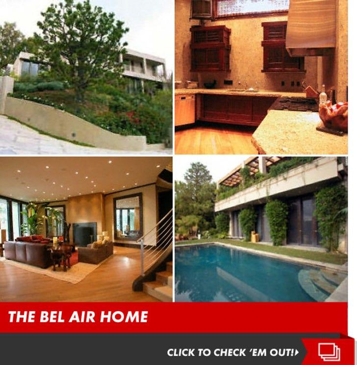 Joe Francis' Bel Air Home