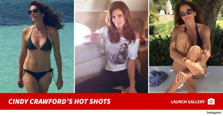 Cindy Crawford's Sexy Instagram Photos