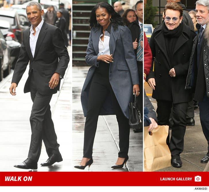 Barack Obama and Bono Together