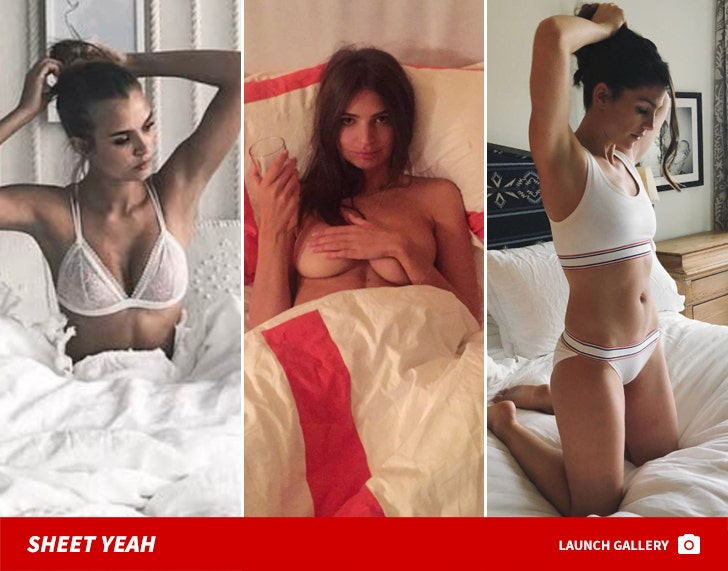 Babes In Beds ... Sheet Yeah!