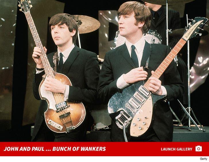 John Lennon and Paul McCartney Together