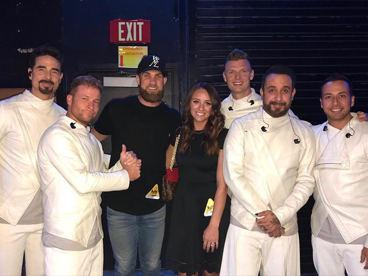 Bryce Harper Wedding.Bryce Harper Gives Wife Backstreet Boys For Her Birthday