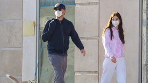 Leonardo DiCaprio and Girlfriend Walk Their Foster Puppy
