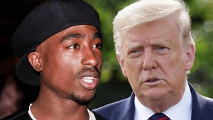Tupac Shakur's Brother Slams Trump for 'Disrespectful' Jab at Kamala