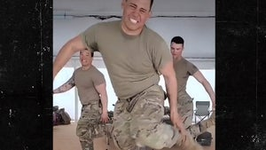 Kevin Bacon's Veterans Day Tribute, Soldiers Getting 'Footloose'