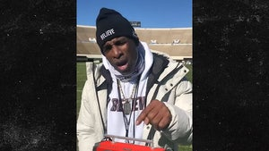 Deion Sanders' Priceless Boombox Stolen From Truck, 'I Want That Back'