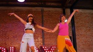 'Friends' Ross & Monica Dance Done by Lisa Rinna, Robin Antin