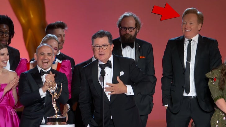 Conan O'Brien Jumps on Stage for Stephen Colbert's Emmy Win.jpg