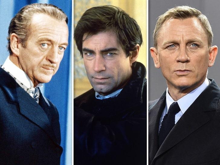 James Bond -- Through The Years