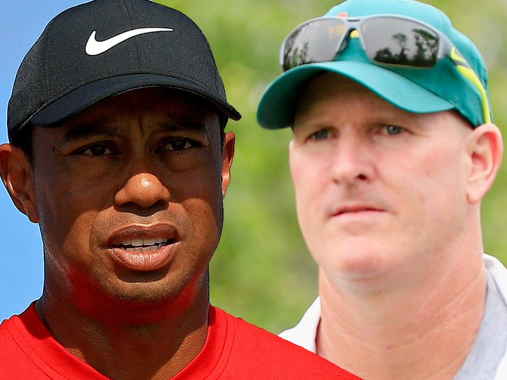 Fan sues Woods, caddie for alleged shove