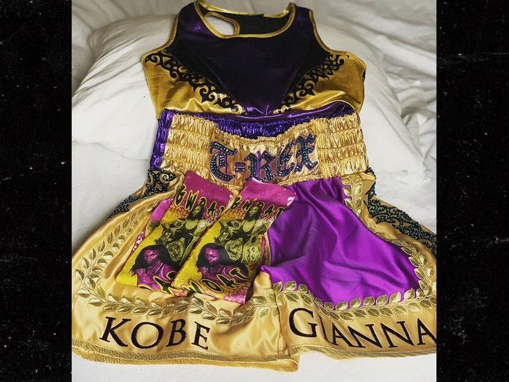 Boxing Star Claressa Shields Honoring Kobe Bryant & Gianna ...