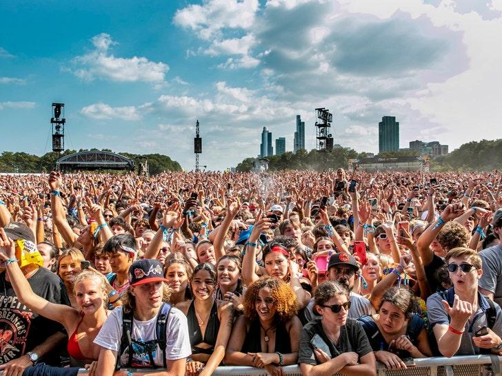 Lollapalooza 2021 Crazy Crowds