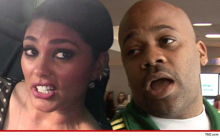 Damon Dash's Rap Ex -- Cops Called In Nasty Custody War