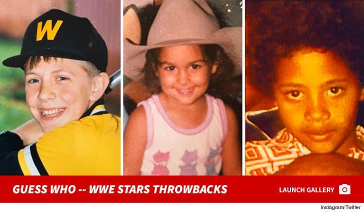 WWE Stars Throwbacks -- Guess Who!