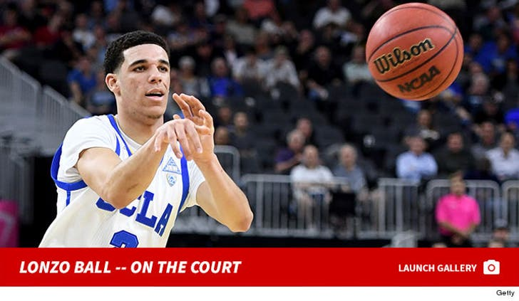 Lonzo Ball -- On the Court