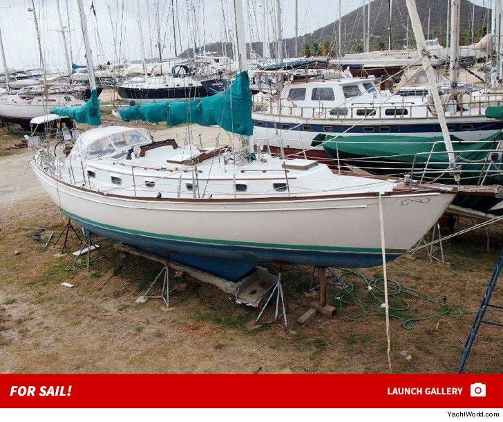 Morgan Freeman's Yacht -- For Sail!