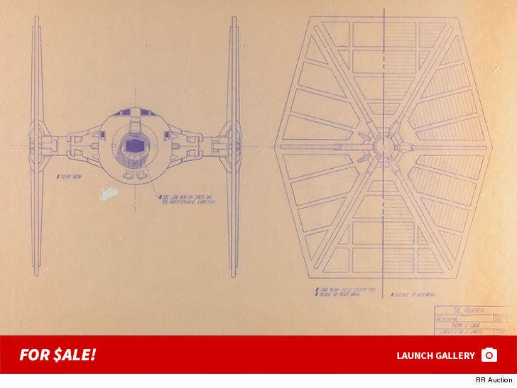 Star Wars Blueprints Ships Auction