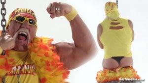 Hulk Hogan -- MAN THONGIN' ... In Miley Cyrus Spoof Video