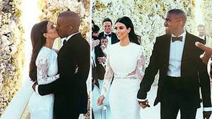 Kim Kardashian & Kanye West's First Kiss ... NO TONGUE